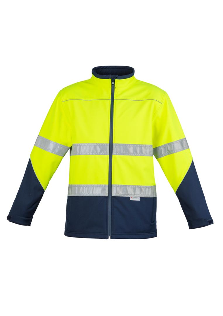 Unisex Hi Vis Softshell Jacket image 3