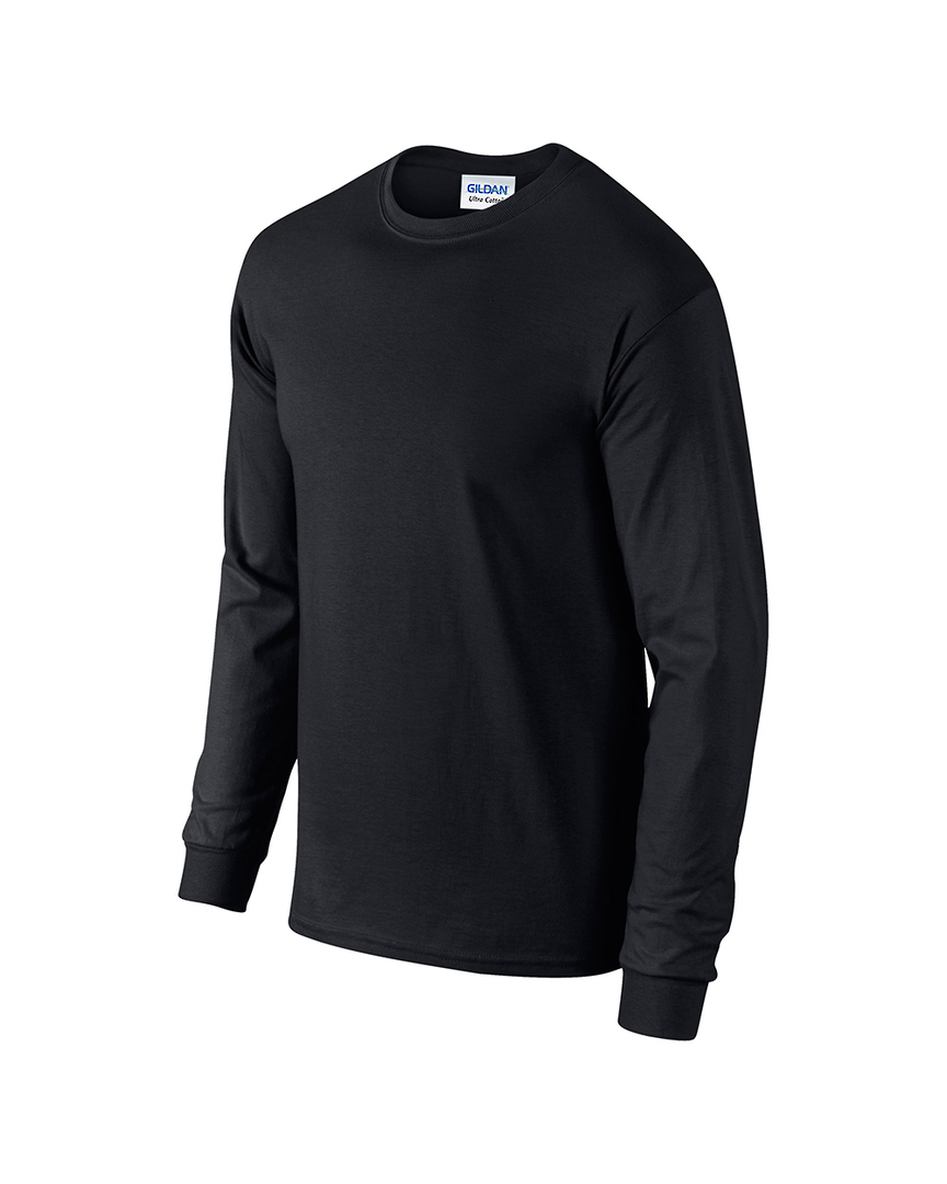 Ultra Cotton™ Classic Fit Adult Long Sleeve T- Shirt image 3