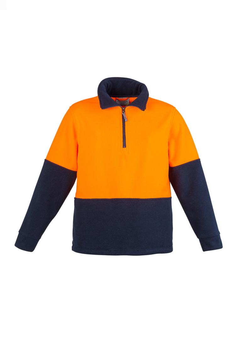 ZT460 Unisex Hi Vis Half Zip Fleece Jumper image 0
