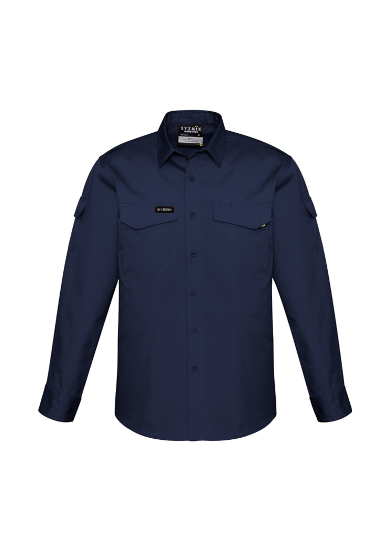 ZW400 Mens Rugged Cooling L/S Shirt image 6