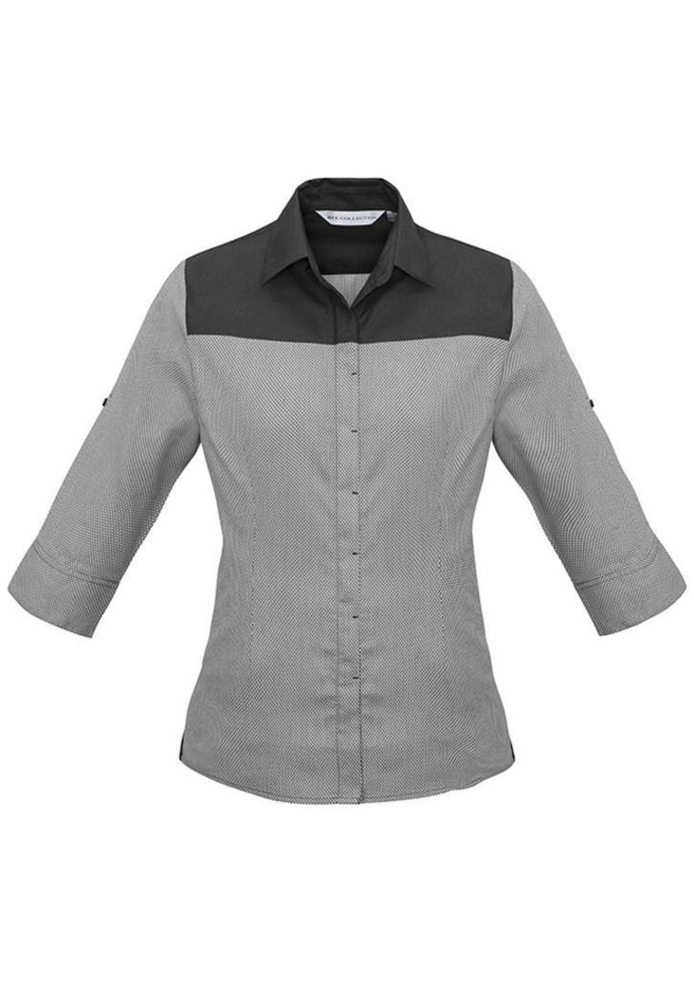 Ladies Havana 3/4 Sleeve Shirt image 2