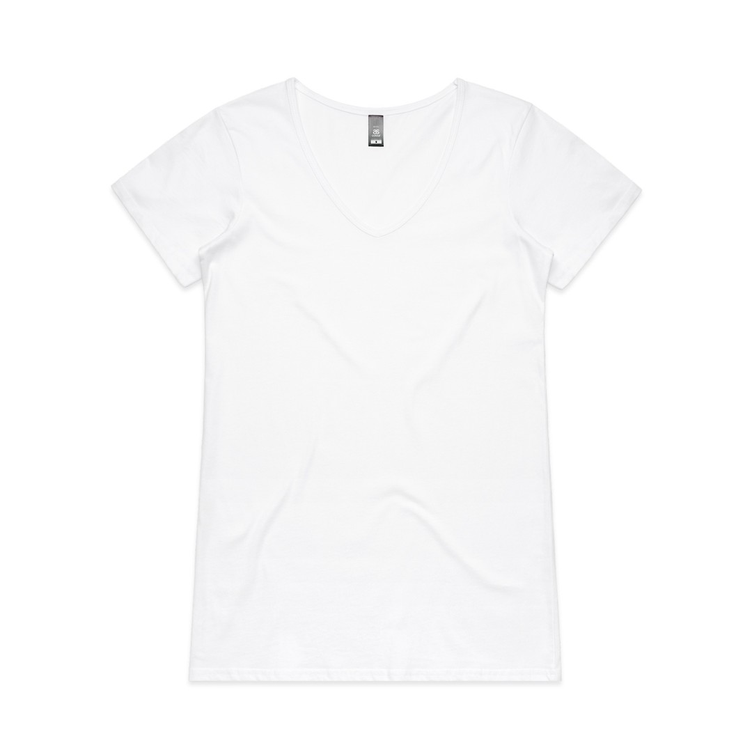 4010 BEVEL V-NECK TEE image 3
