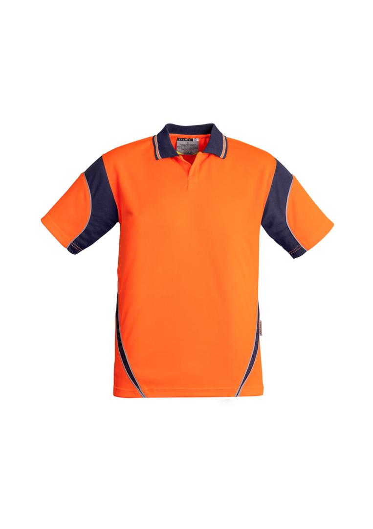 ZH248 Mens Hi Vis Aztec Polo - Short Sleeve image 3