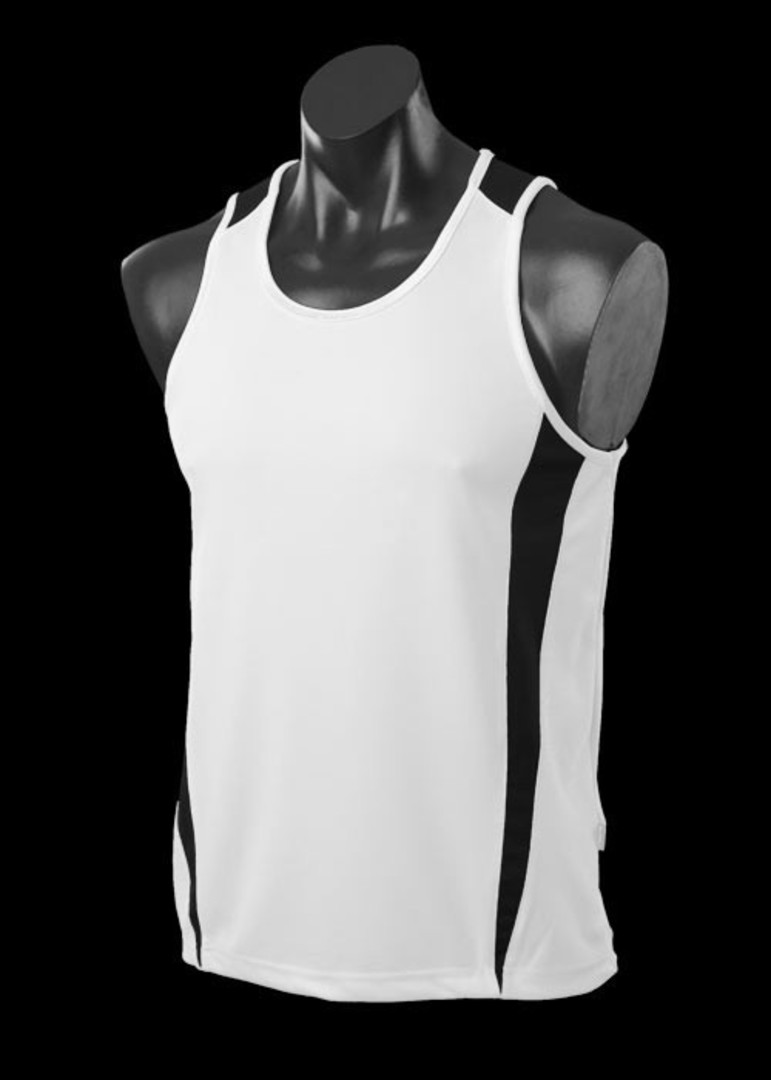 Mens and Womens Deluxe Eureka Singlets image 1