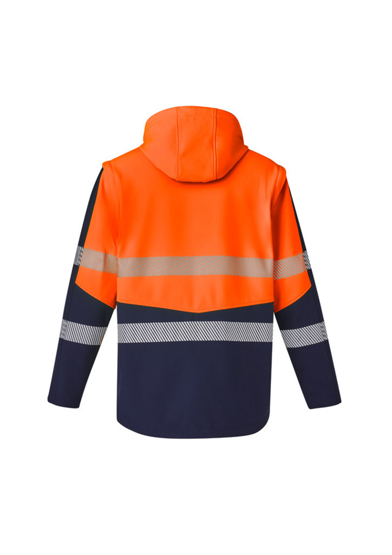 UNISEX 2 IN 1 STRETCH SOFTSHELL TAPED JACKET image 6
