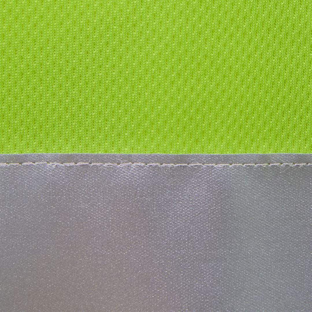 6HVSL Hi Vis L/S (D+N) Traditional Polo image 3