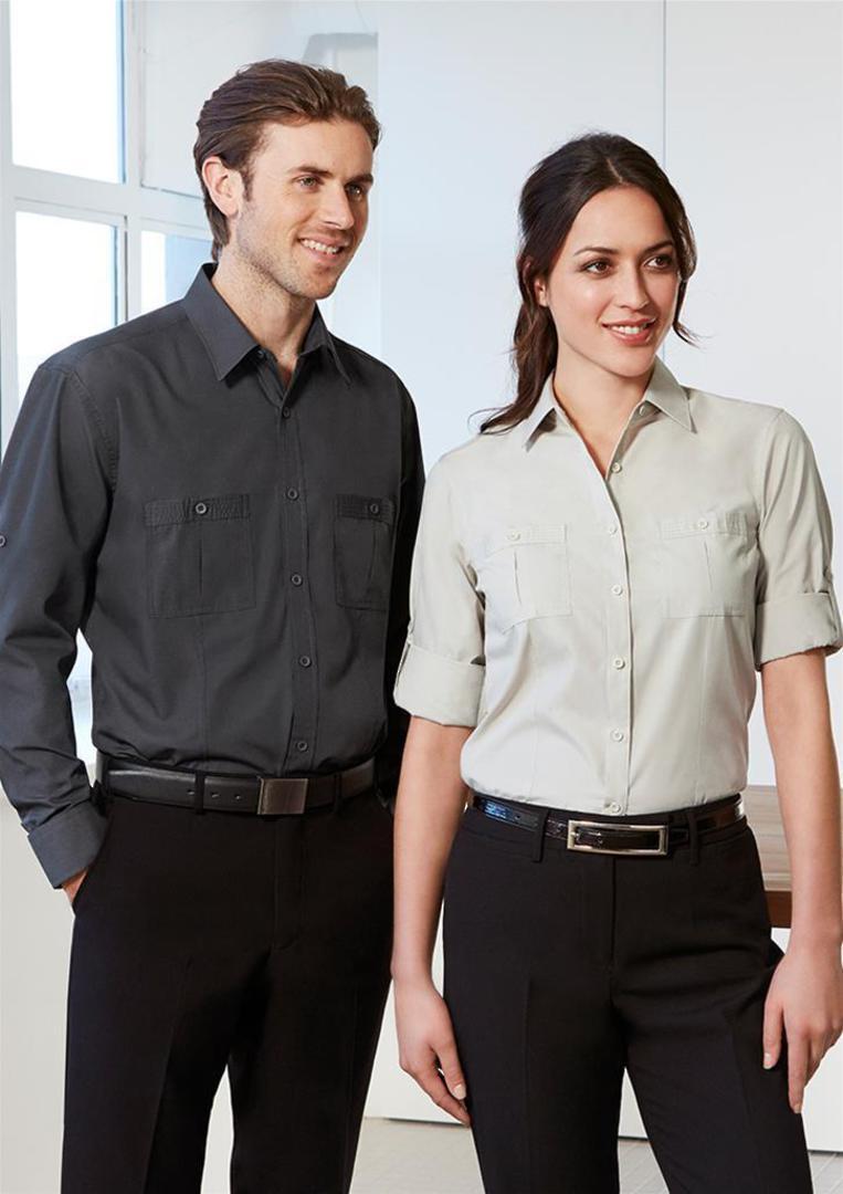 Mens Bondi Long Sleeve Shirt image 0