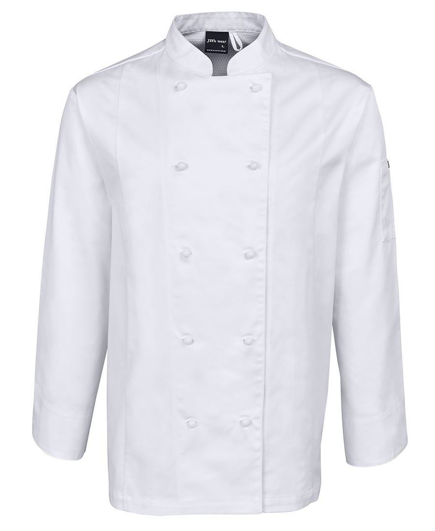 VENTED CHEF'S L/S JACKET 5CVL image 1
