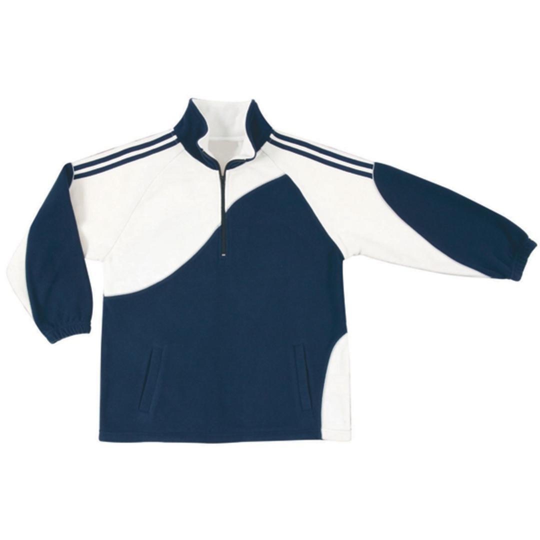KF0 Kids Unisex Sports Fleece Pullover image 3