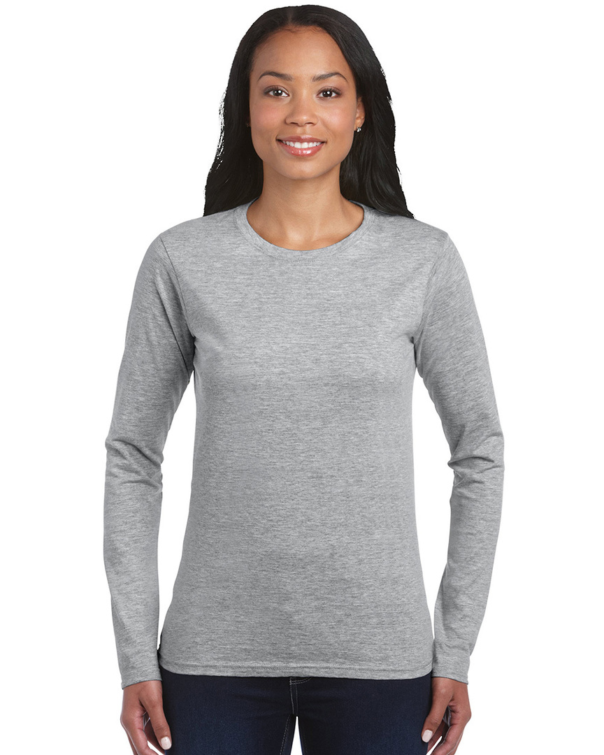 Softstyle® Fitted Ladies' Long Sleeve T-Shirt image 5
