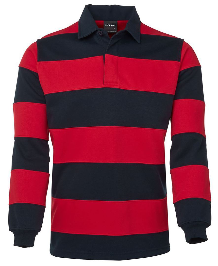 3SR Mens Striped Rugby Jersey image 2