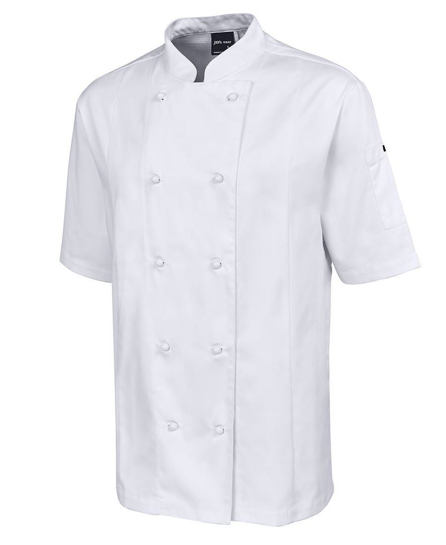 VENTED CHEF'S S/S JACKET 5CVS image 0