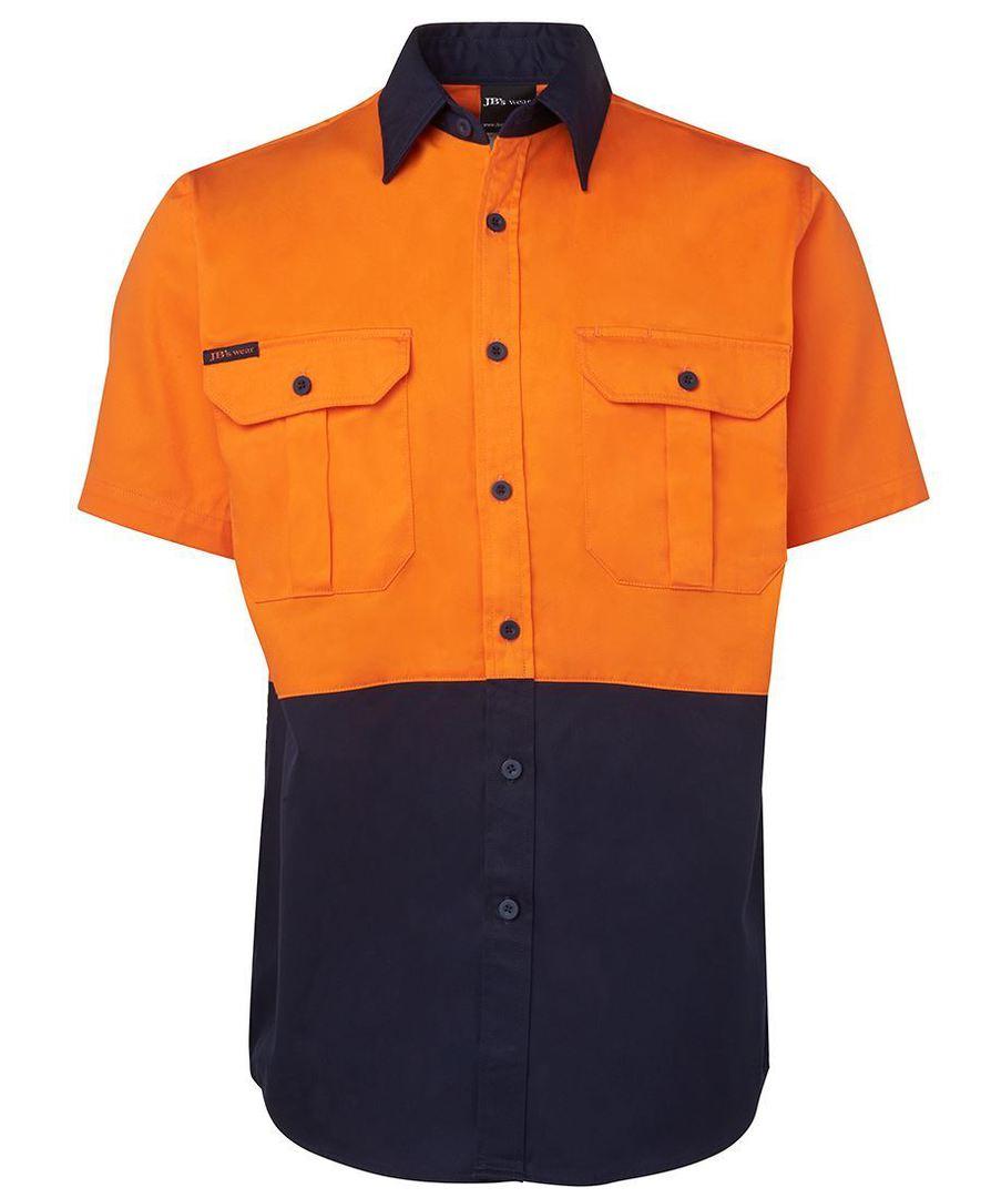 6HWS Hi Vis S/S 190G Shirt image 4