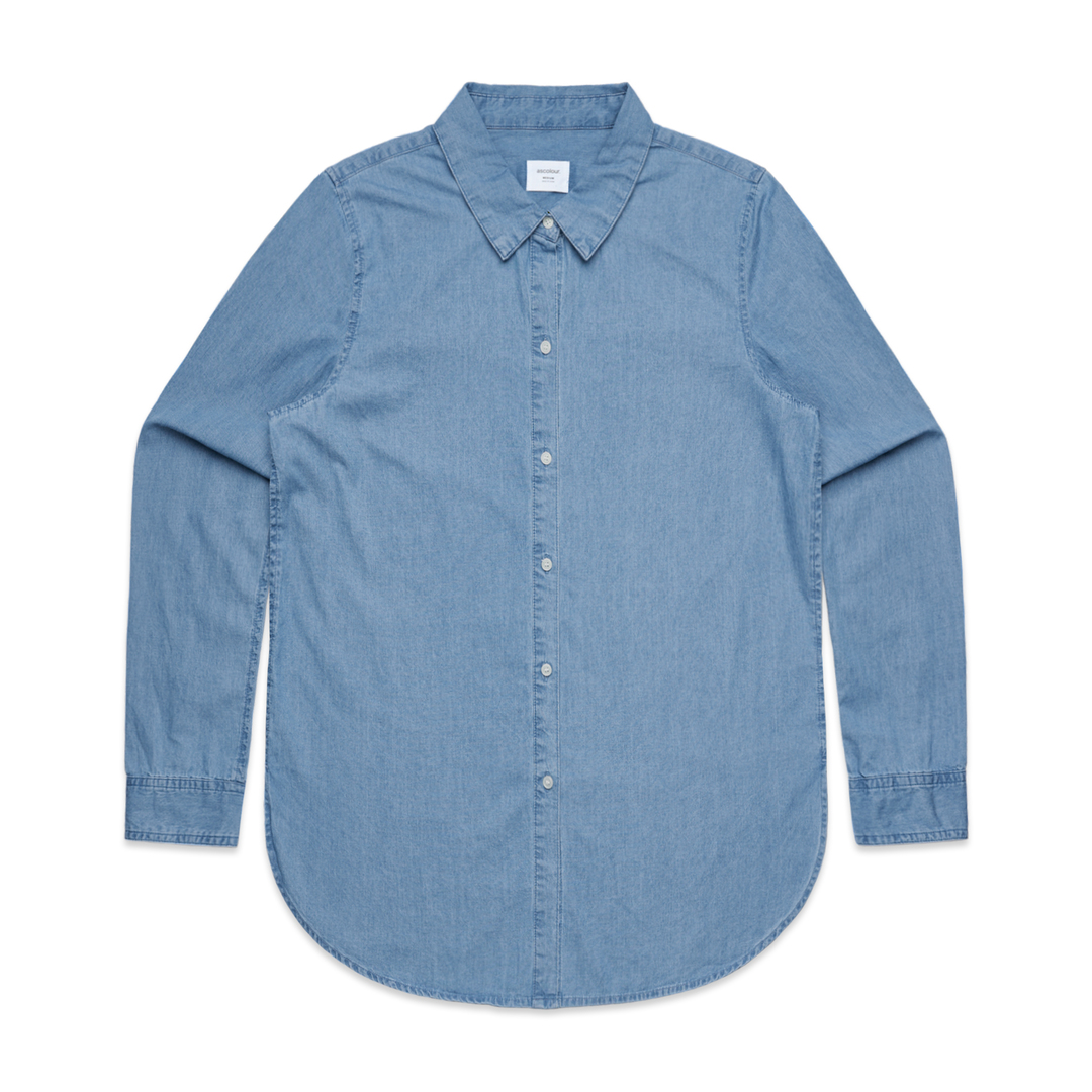 Denim Womens Shirt image 1