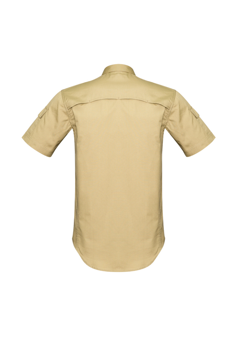 ZW405 Mens Rugged Cooling Mens S/S Shirt image 5