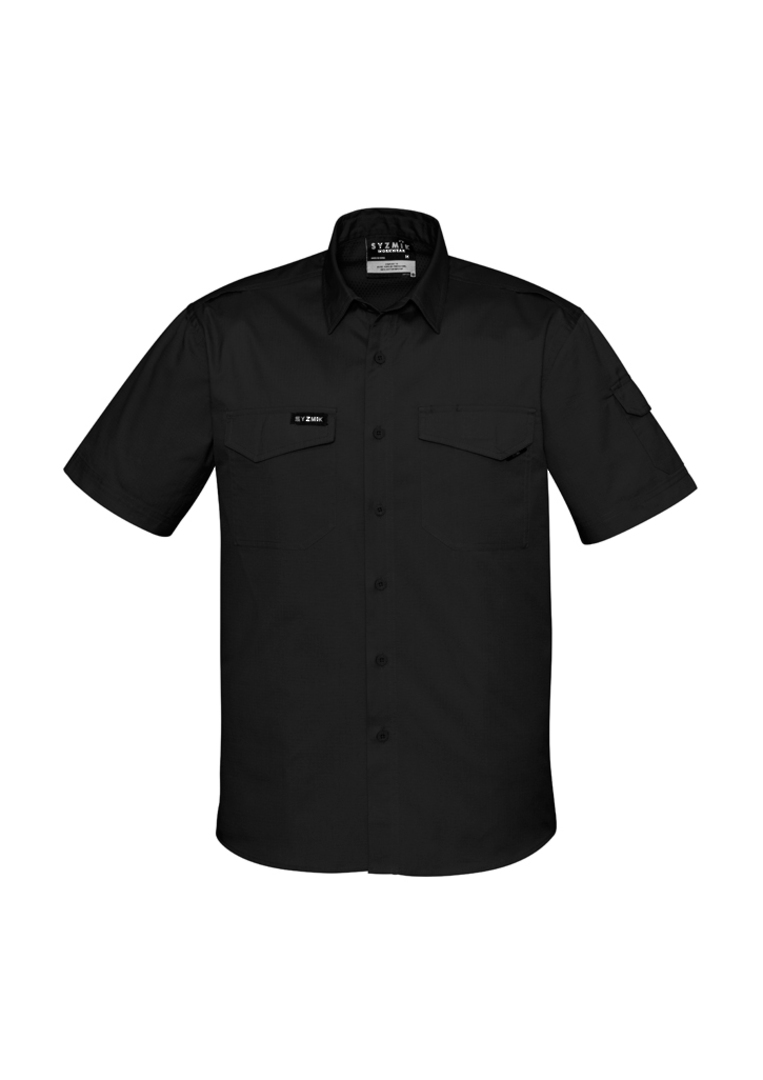 ZW405 Mens Rugged Cooling Mens S/S Shirt image 0