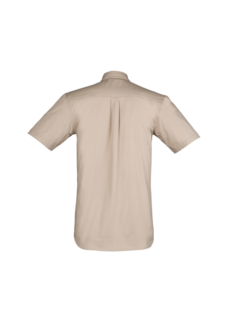 ZW120 Mens Light Weight Tradie Shirt - Short Sleeve image 7