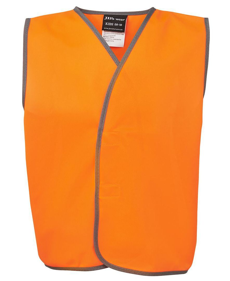 6HVSU Kids Hi Vis Safety Vest image 1