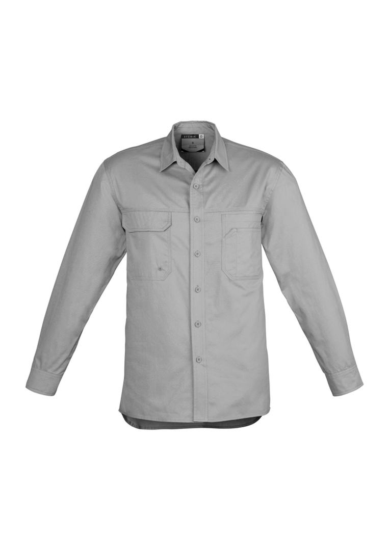 ZW121 Mens Lightweight Tradie Shirt - Long Sleeve image 5