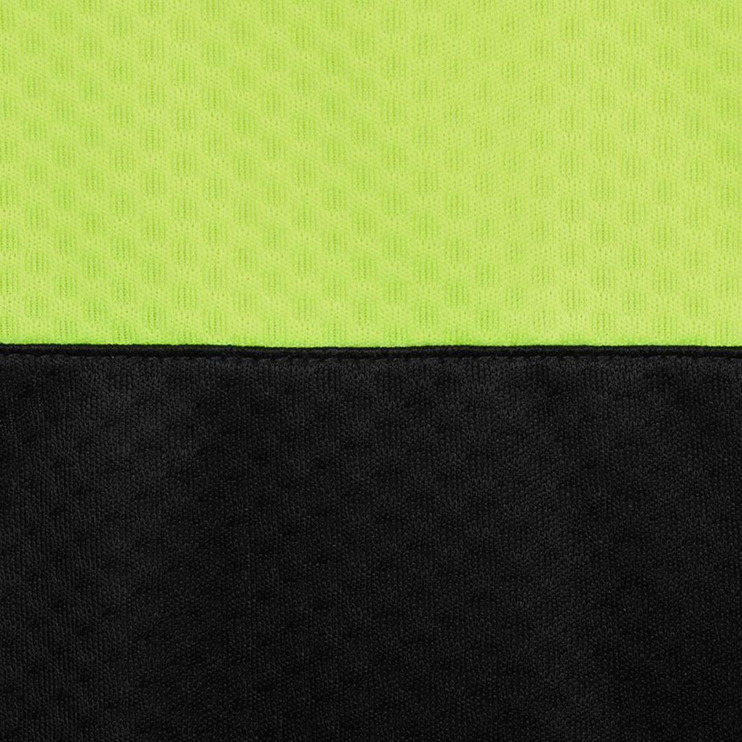 6HJNC Hi Vis Jacquard Non Cuff Polo image 4