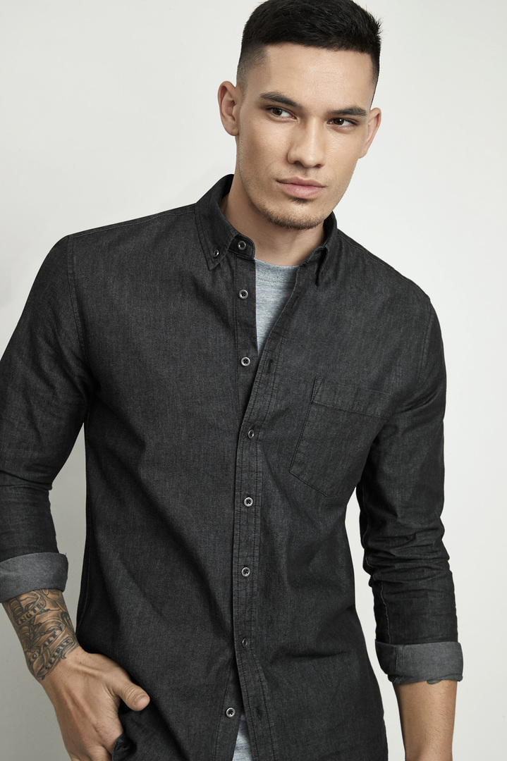 INDIE MENS LONG SLEEVE SHIRT image 0