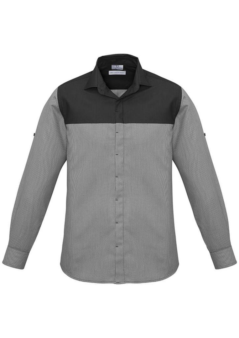 Mens Havana Long Sleeve Shirt image 2