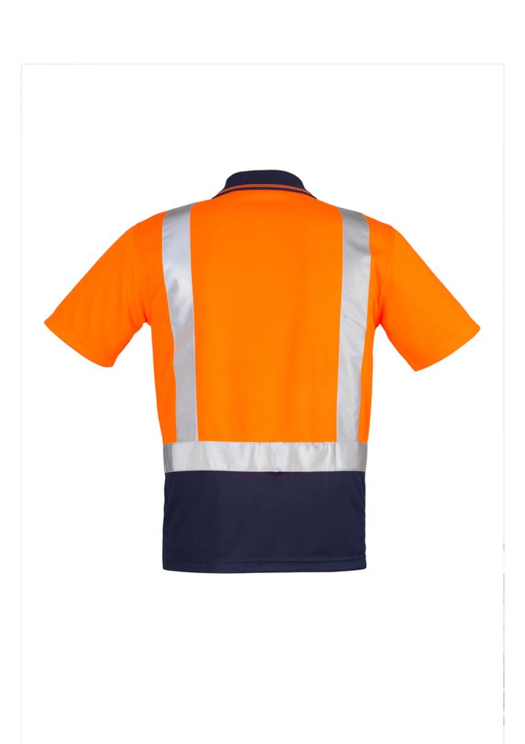 ZH233 Mens Hi Vis Spliced Polo - Short Sleeve image 0