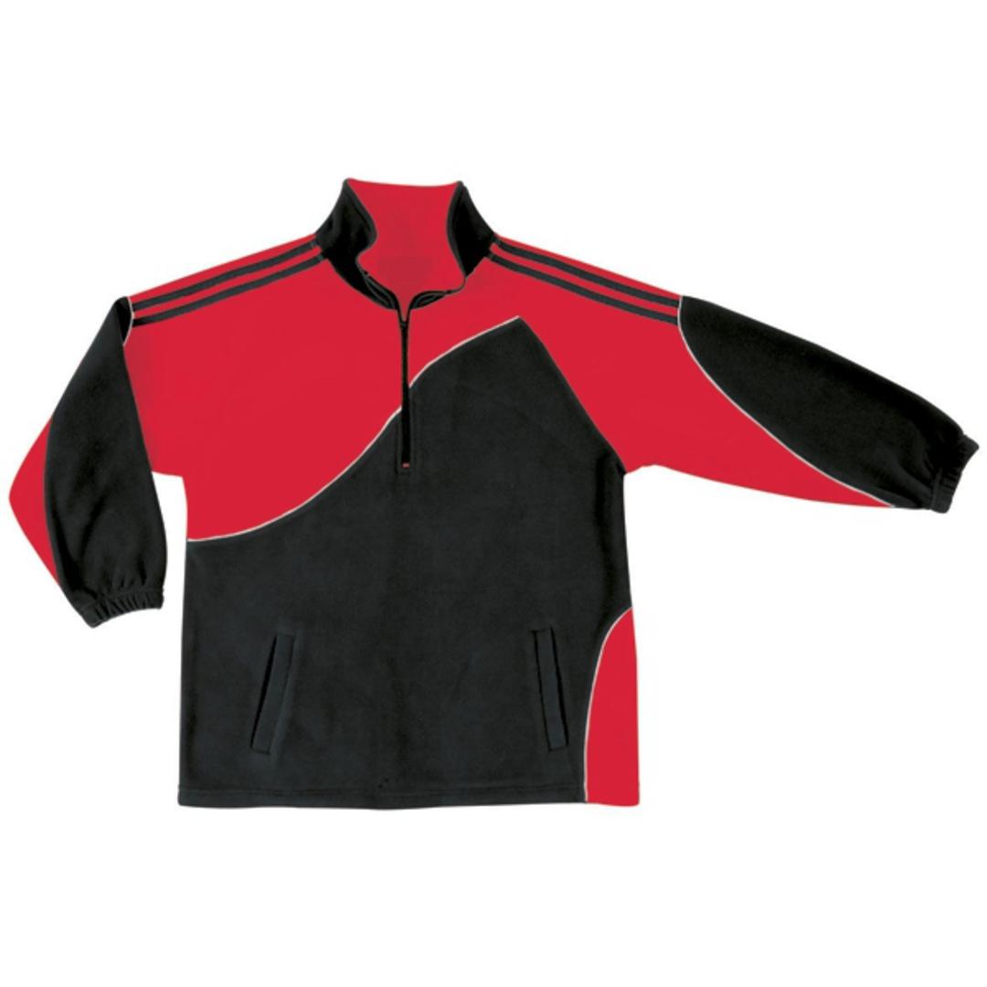 KF0 Kids Unisex Sports Fleece Pullover image 2