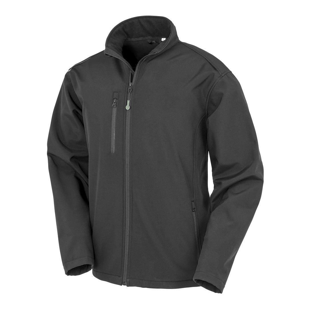 Recycled 3-Layer Softshell Jacket image 1