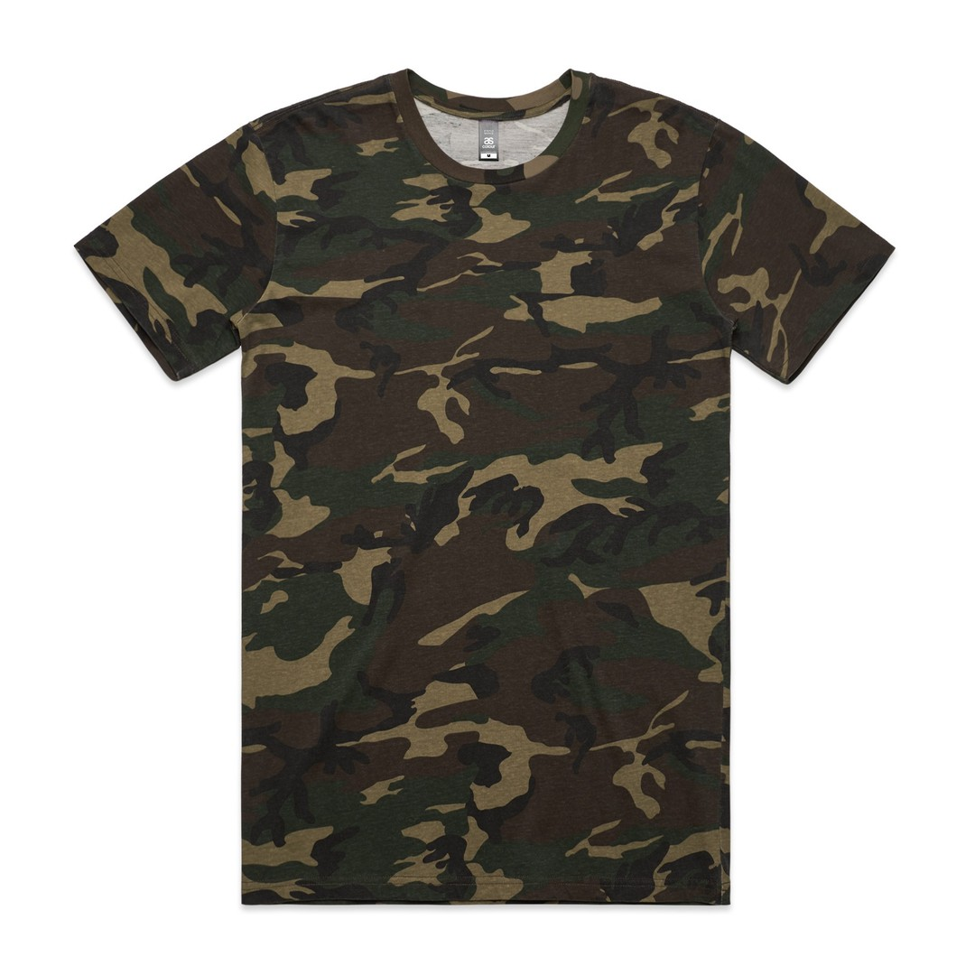 MENS STAPLE CAMO TEE - 5001C image 1