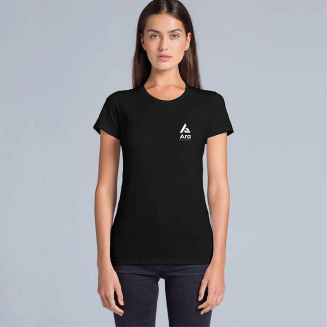ARA Logo Ladies Tee Shirt image 0