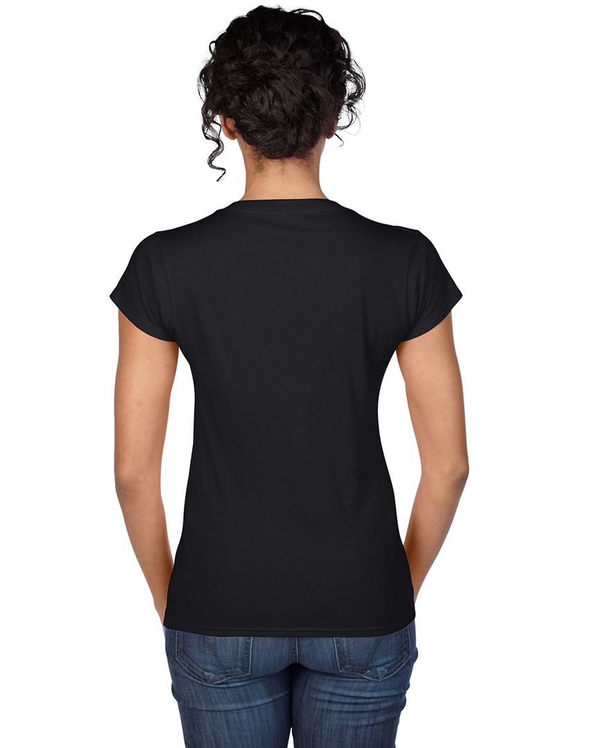 Softstyle® Fitted Ladies' V-Neck T-Shirt image 5