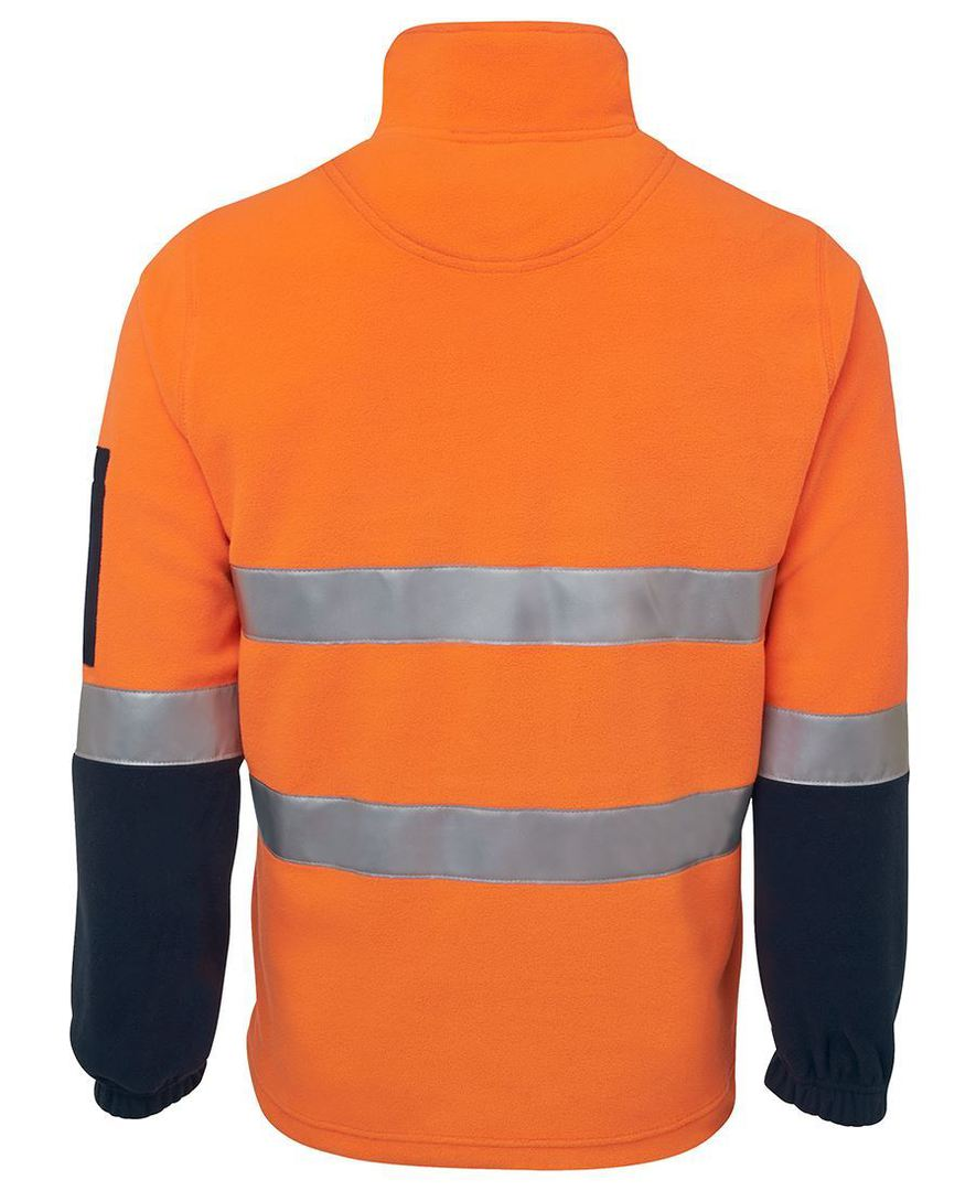 6DNPF Hi Vis (D+N) 1/2 Zip Polar Fleece image 3