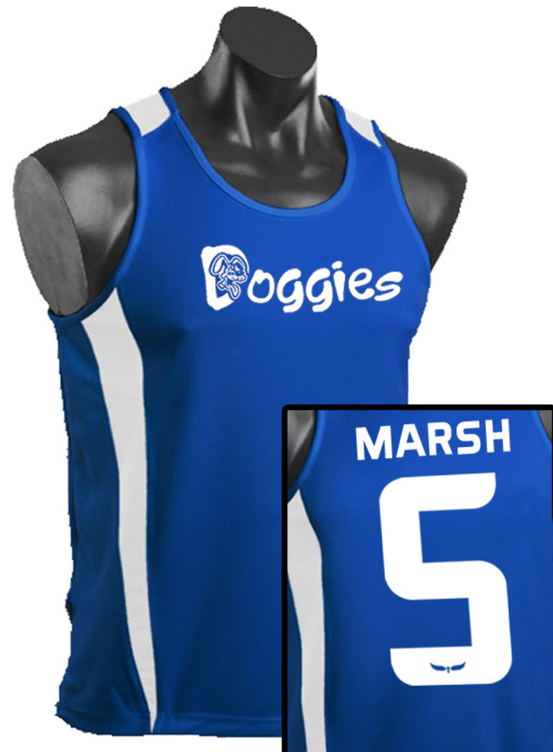 Mens and Womens Deluxe Eureka Singlets image 0
