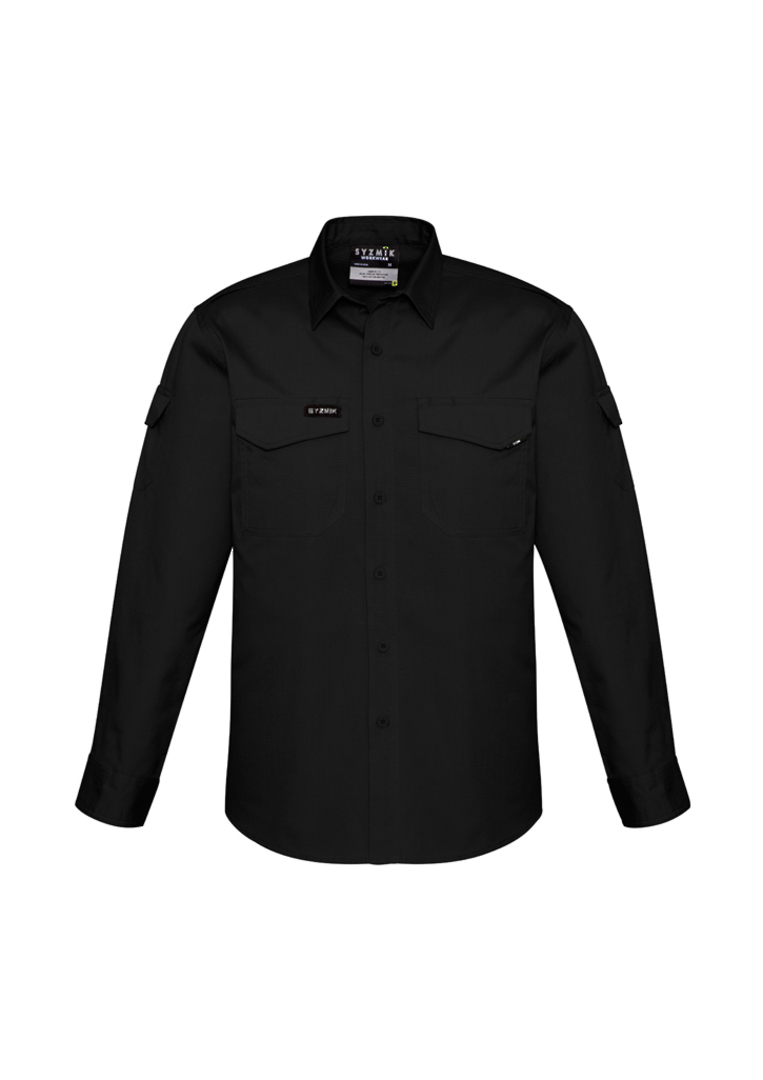 ZW400 Mens Rugged Cooling L/S Shirt image 0