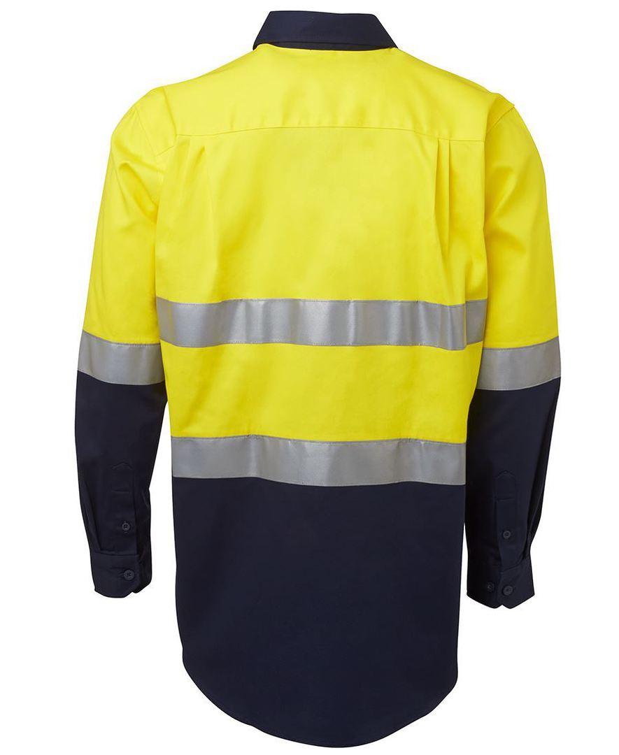6HLS Hi Vis (D+N) L/S 190G Shirt image 4