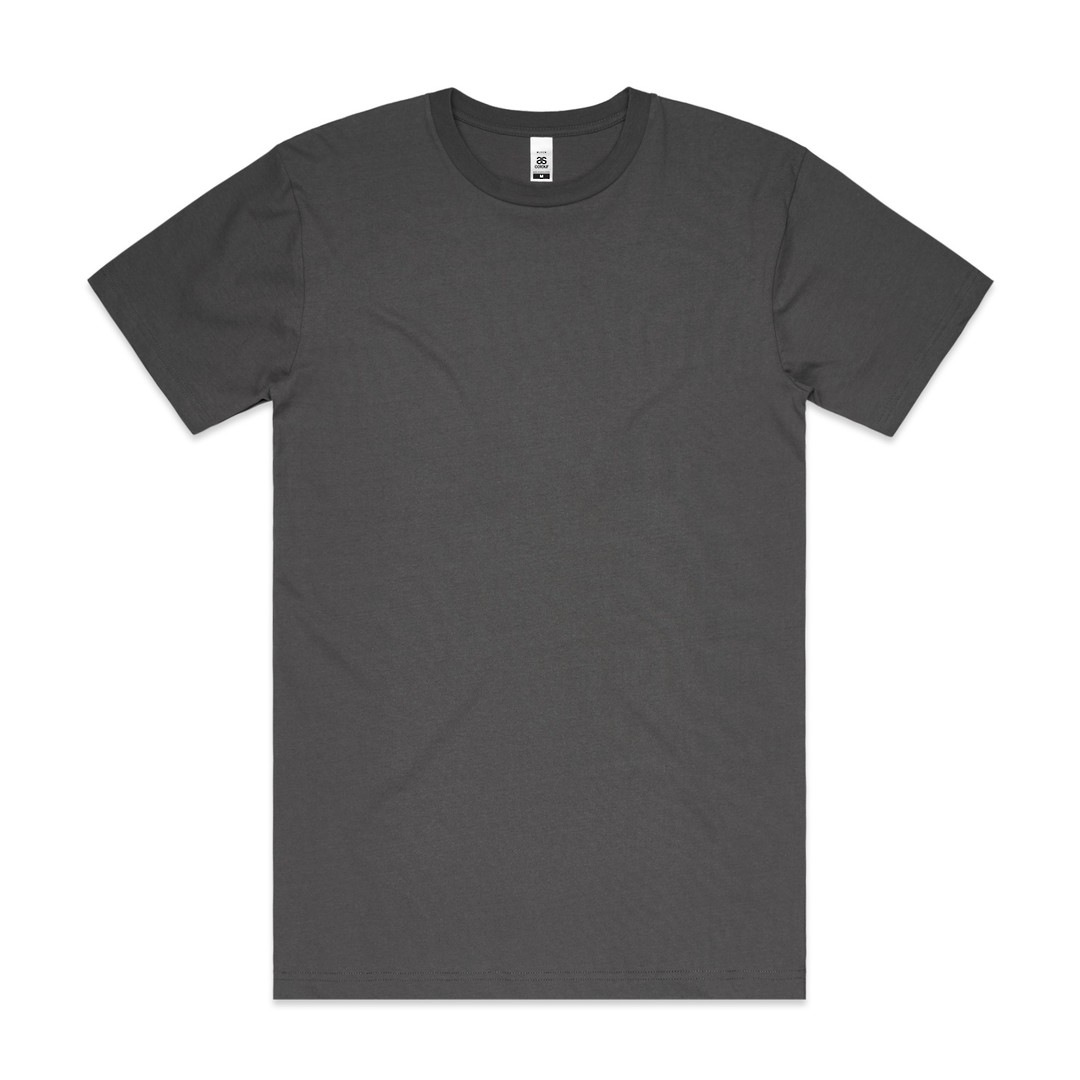 MENS BLOCK TEE (3XL-5XL) - 5050B image 2