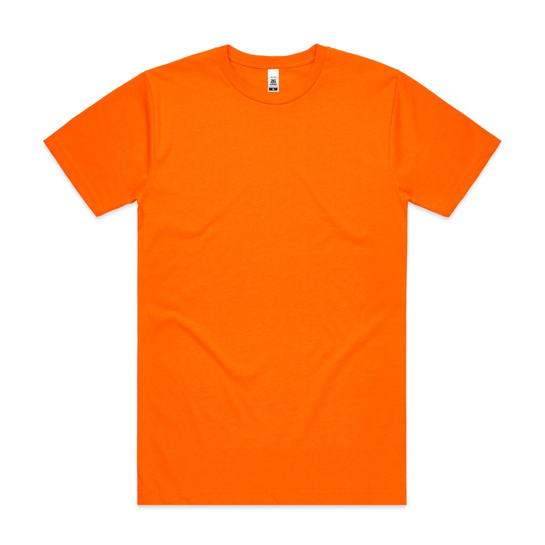 Mens Block Tee (Safety Colours) image 1