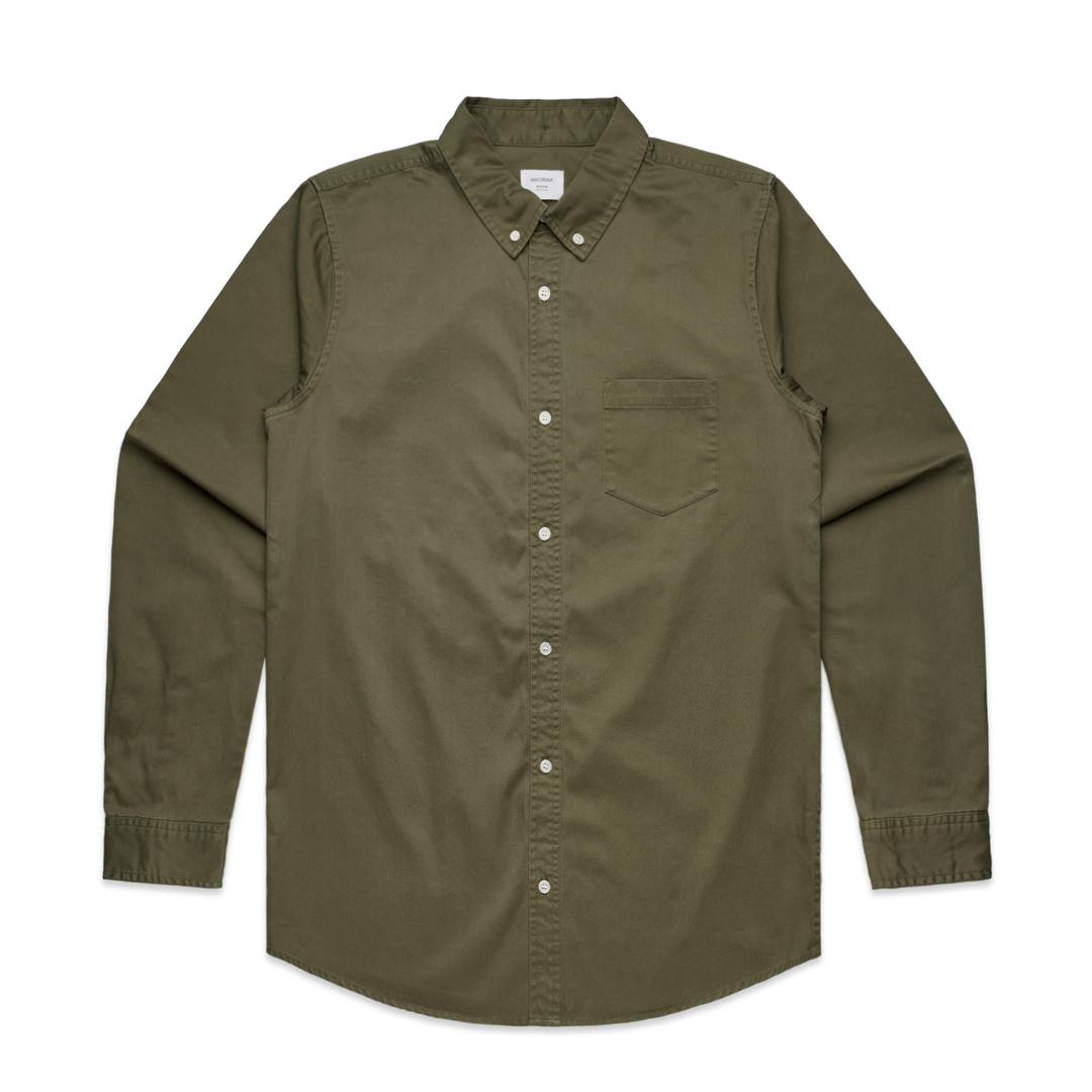 Mens Denim Wash Shirt image 1