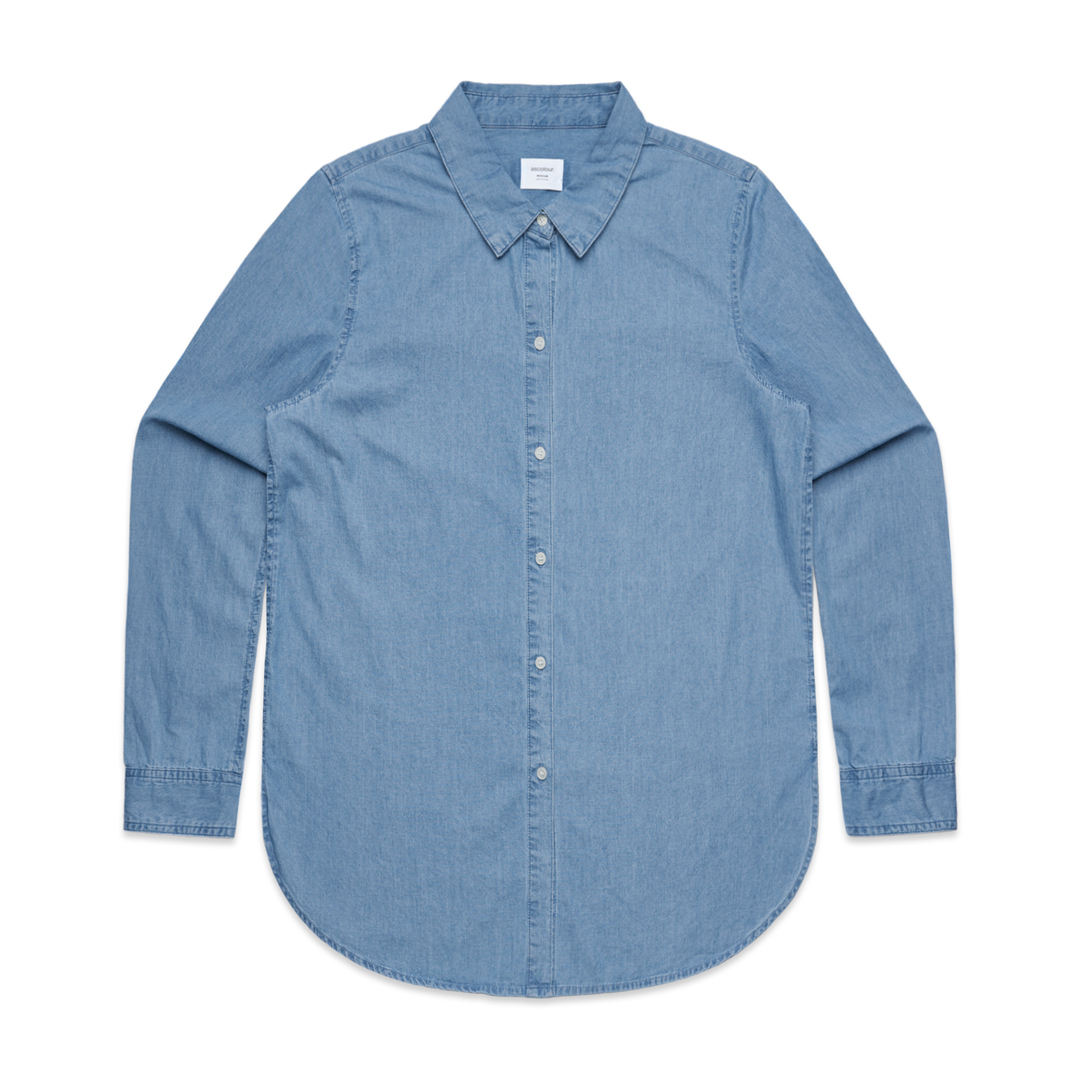 Ladies Denim Shirt image 1