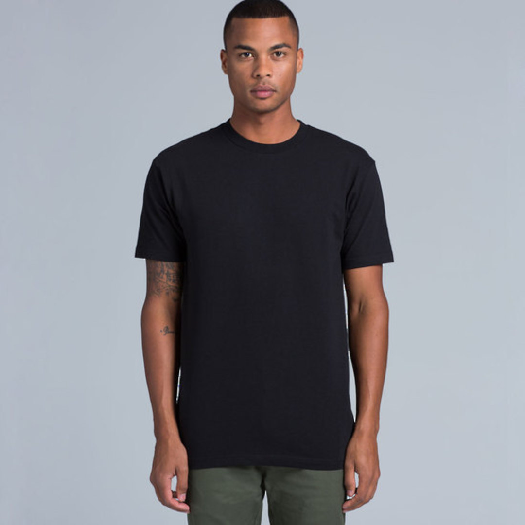MENS BLOCK TEE (3XL-5XL) - 5050B image 0