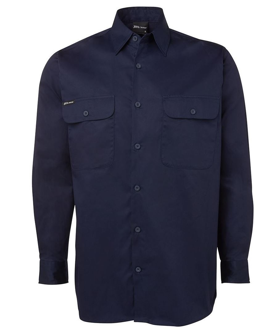 6WSLL L/S 150G Work Shirt image 0