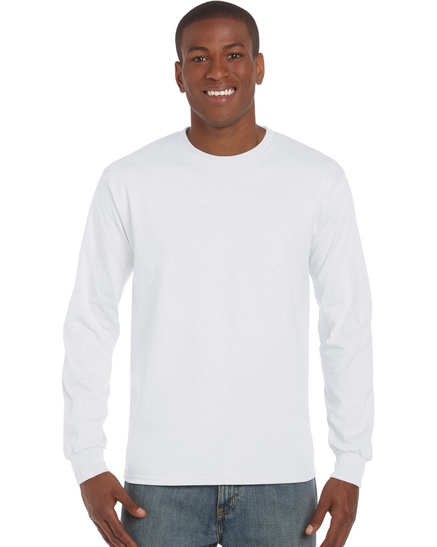 Ultra Cotton™ Classic Fit Adult Long Sleeve T- Shirt image 5