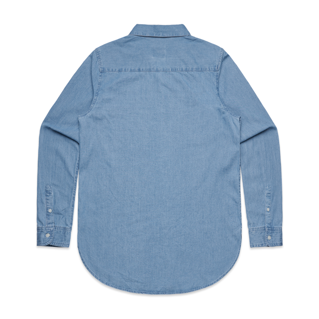 Ladies Denim Shirt image 2