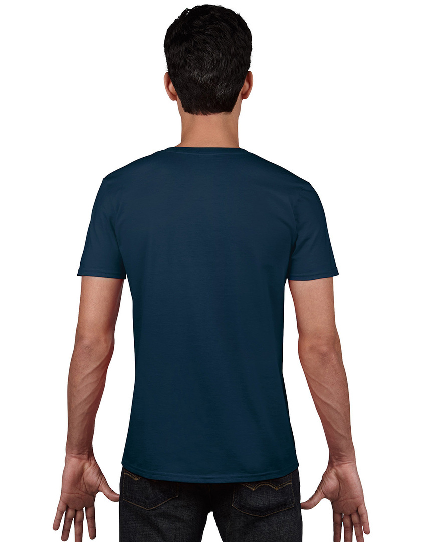 Softstyle® Euro Fit Adult V-Neck T-Shirt image 3