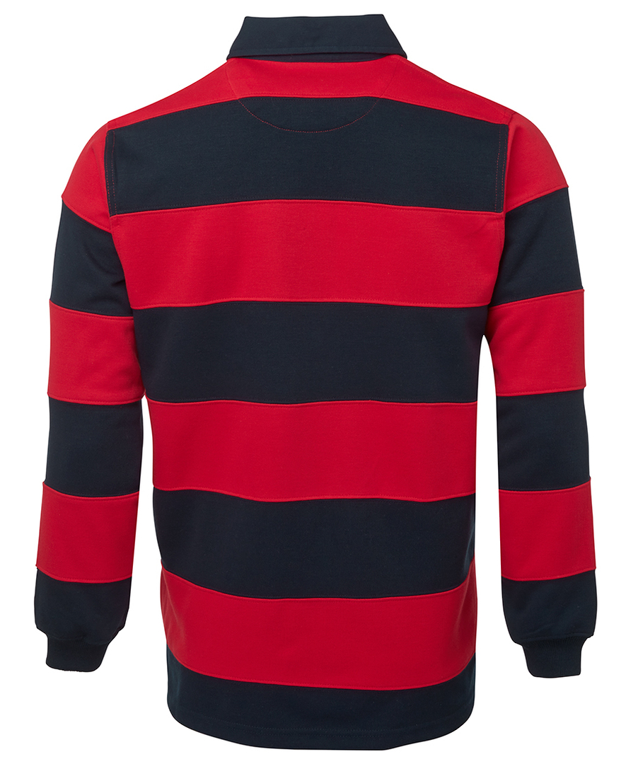 3SR Mens Striped Rugby Jersey image 3