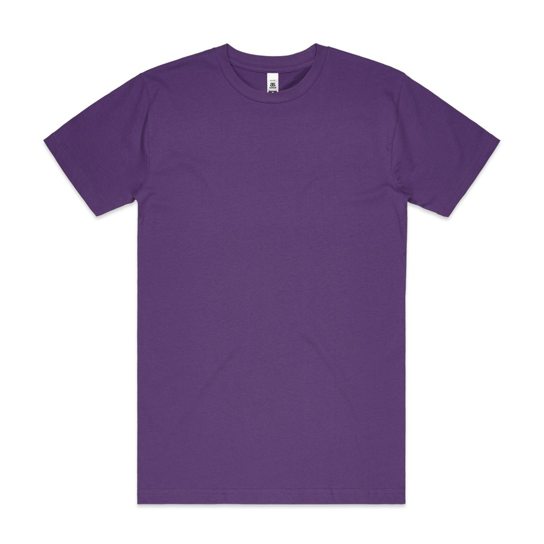 MENS BLOCK TEE (3XL-5XL) - 5050B image 10