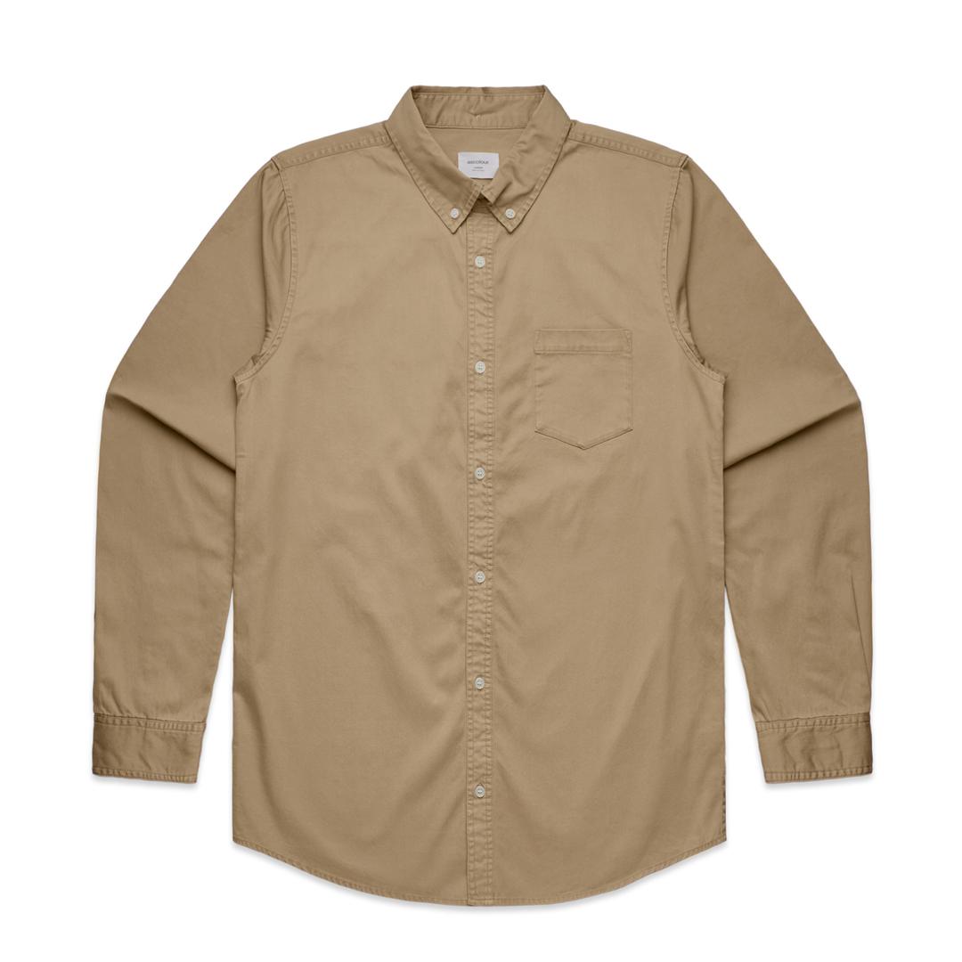 Mens Denim Wash Shirt image 3