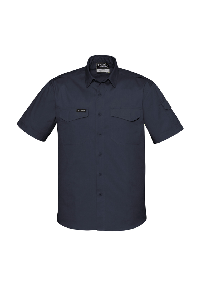 ZW405 Mens Rugged Cooling Mens S/S Shirt image 2