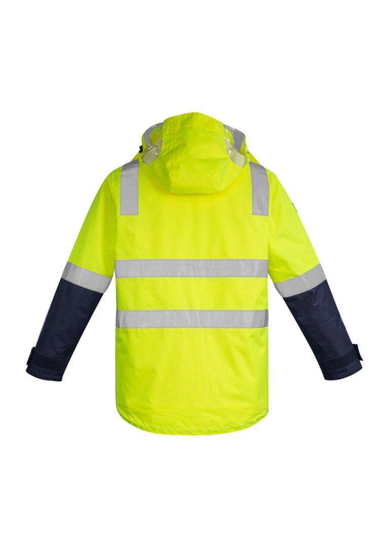 ZJ530 Mens Hi Vis 4 in 1 Waterproof Jacket image 2